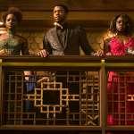 Lupita Nyong'o, Chadwick Boseman, Danai Gurira