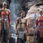 Lupita Nyong'o, Danai Gurira, Florence Kasumba