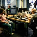 Mark Rylance, Simon Pegg