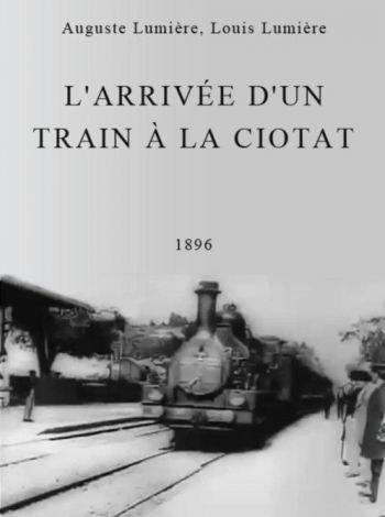 Wjazd pociągu na stację w Ciotat